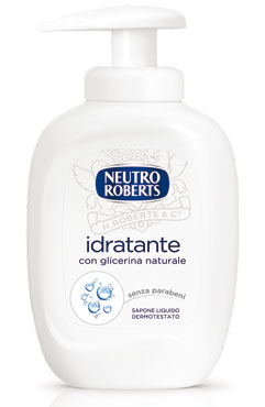 Sapone liquido Neutro Roberts vari tipi 300 ml