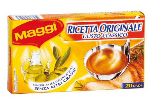 Dado Maggi x 20 classico/vegetale 200 g