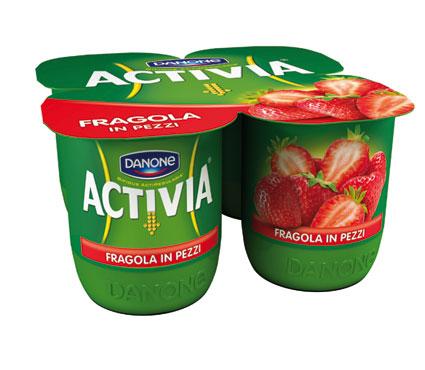 Yogurt Activia Danone vari gusti 4 X 125 g