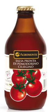 Salsa pronta pomodori/datterini ciliegino Agromonte 330 g