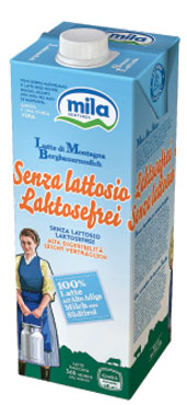 Latte uht s/lattosio ps Mila 1 l