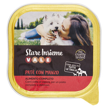 PATE'CANE MANZO GR.300  VALE