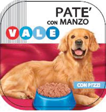 Pate' cane manzo/pollo Vale 300 g