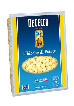 Chicche/Gnocchi di Patate De Cecco 500 g