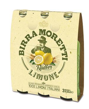 Birra Moretti Radler vari gusti 3 x 33 cl