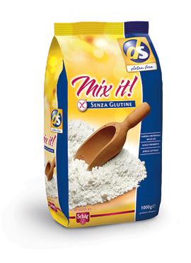Farina Mix it s/glutine Scha'r 1 kg
