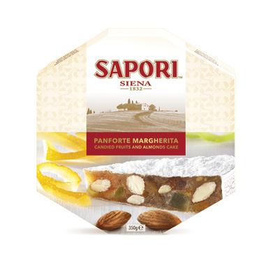 Panforte Sapori vari tipi 350/300  g