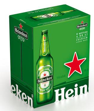 Birra Heineken 66 cl x 6