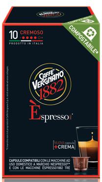 Capsule compatibili vari tipi Caffe' Vergnano 50 g