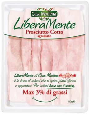 Prosciutto cotto liberamente Casa Modena 110 g