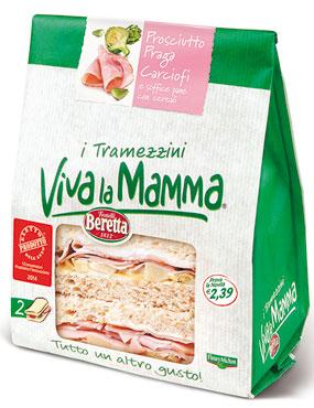 I Tramezzini Viva la Mamma vari gusti 160 g