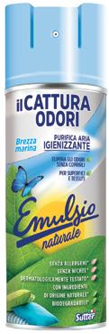 Cattura odori emulsio gel/spray varie profumazioni 300/400ml
