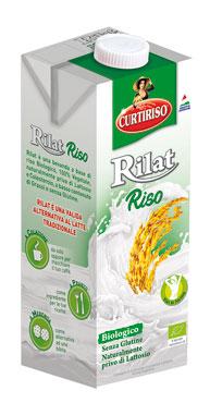 Bevanda di Riso/Vegetali Rilat Curti 1 l