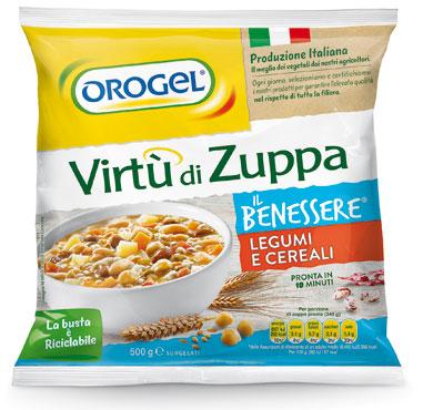 Virtu' di zuppa Orogel leggerez/cereali/verdure 500