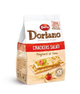 Crackers Doriano vari gusti 700 g