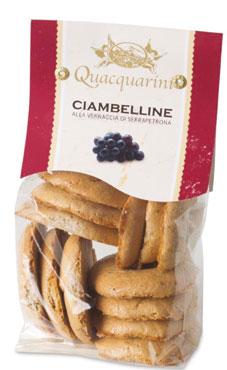 Ciambelline Vernaccia Quacquarini 250 g