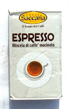 Caffe' espresso Saccaria 250 g