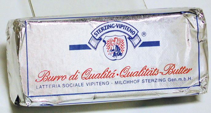 Burro Vipiteno 250 g