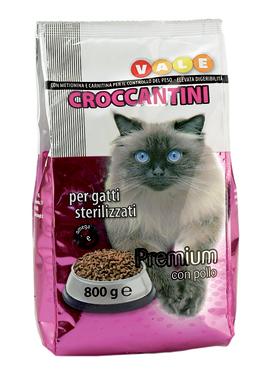 Crocchette gatto sterilizzato Vale 800 g