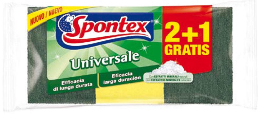 Spugna abrasiva universale Spontex 2+1
