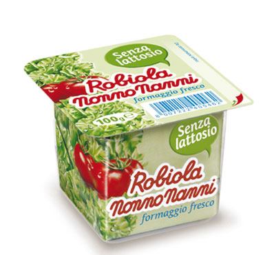 Robiola classica/senza lattosio/con lattosio Nonno Nanni 100 g
