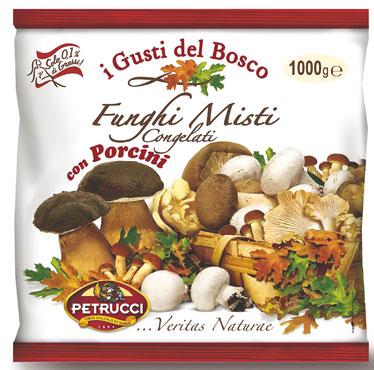 Misto funghi con porcini Petrucci 1 kg