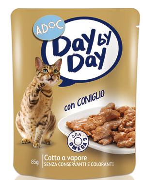 Alimento umido per gatti AdOc vari gusti 85 g