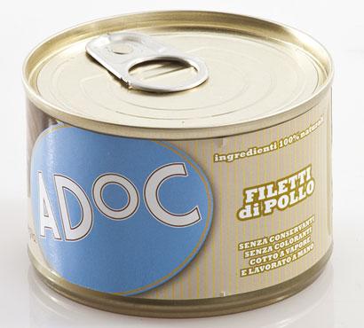 Alimento umido cane AdOc vari gusti 170 g