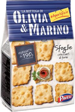 Sfoglie Olivia & Marino vari tipi 190/160 g