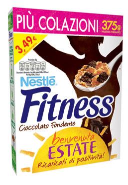Fitness & chocolate/dark chocolate Nestle' 375 g