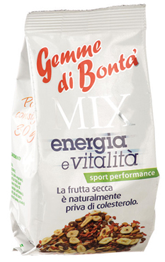 Mix Frutta secca vari tipi Gemme di Bonta' 150 g