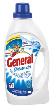 General lavatrice liquido vari tipi 21 lavaggi