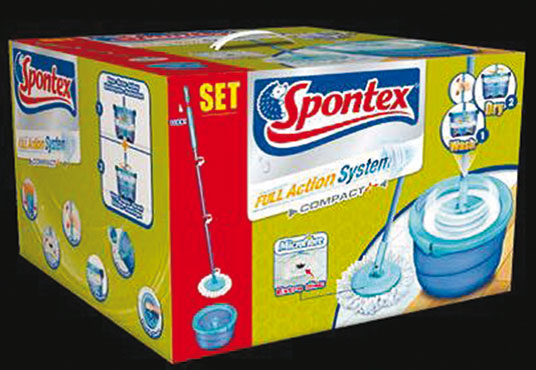 Full Action System Plus Spontex