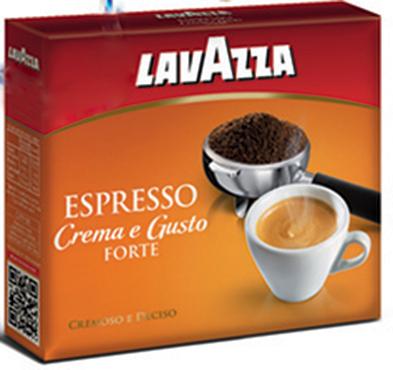 Crema e Gusto Forte Espresso Lavazza 2 x 250 g