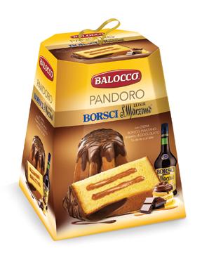 Panettone maxiciok Balocco vari tipi 800 g
