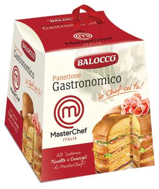 Panettone gastronomico Masterchef Balocco 800 g