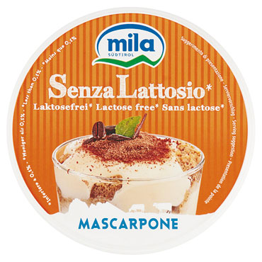 Mascarpone senza lattosio Mila 250 g
