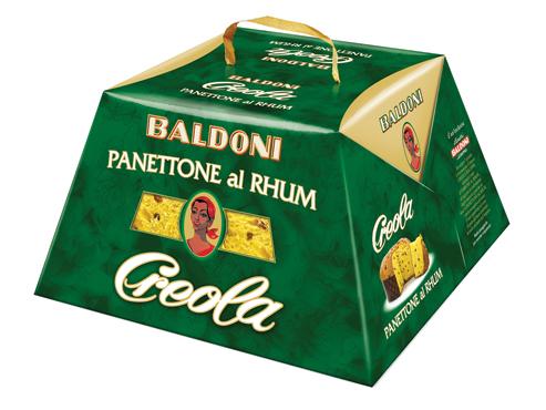 Panettone Rhum Creola Baldoni 1 kg