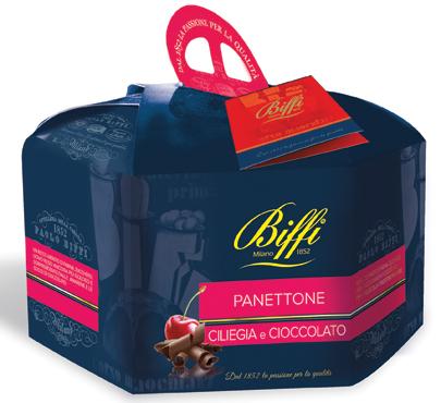 Panettone ciliegia/cioccolato Biffi 1 kg