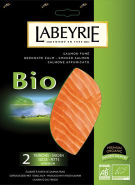 Salmone affumicato il biologico Labeyrie 75 g