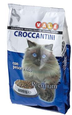 Alimento secco x gatti Vale pesce-riso/pollo-riso 800 g