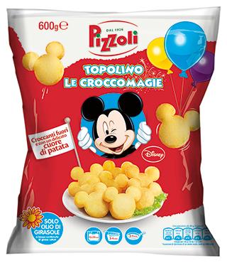 Patatine Topolino le Croccomagie Pizzoli 600 g