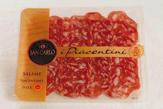 Salame piacentino DOP San Carlo 100 g