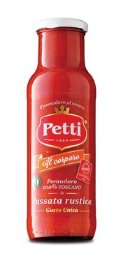 Passata pomodoro rustica 'Il corposo' Petti 700 g