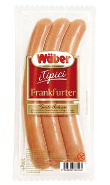 Wuber 'I tipici' frankfurter confezoine da 3 pz 200 g