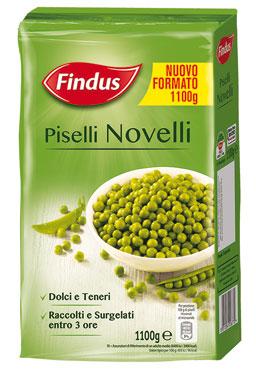 Piselli Novelli Findus 1,1 Kg