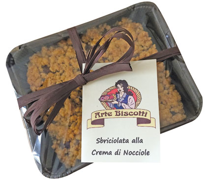 Sbriciolata cioccolato/frutti di bosco Arte Biscotti 160 g