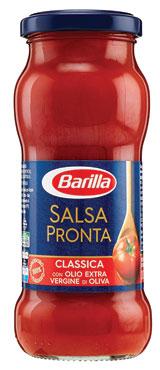 Salsa pronta Classica/Origano/Datterini Barilla 300 g