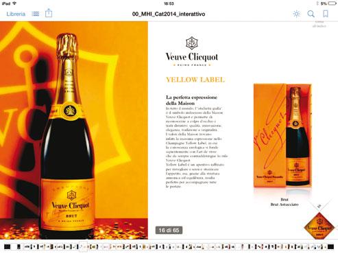 Champagne Veuve Cliquot 75 cl