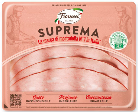 Mortadella suprema Fiorucci 120 g